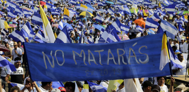 Nicaragua reprimida, ¡pero nunca rendida!