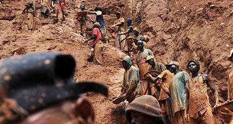 """Mineros artesanos en el este de la RD Congo, ¿""""Minerales de sangre""""?"""